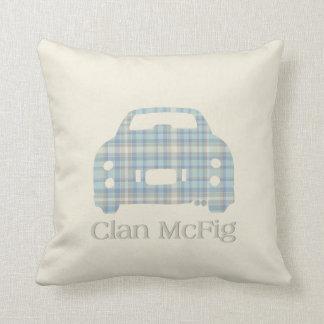 Nissan Figaro Clan McFig Silhouette pillow cushion