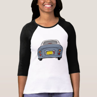 Nissan Figaro - Lapis Grey 3/4 length sleeve T-Shirt