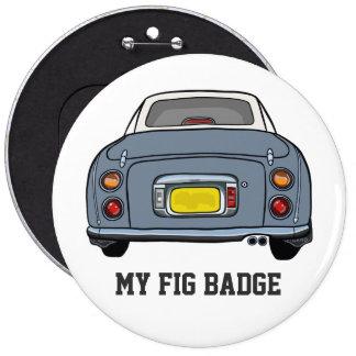 Nissan Figaro - Lapis Grey -My Fig Badge