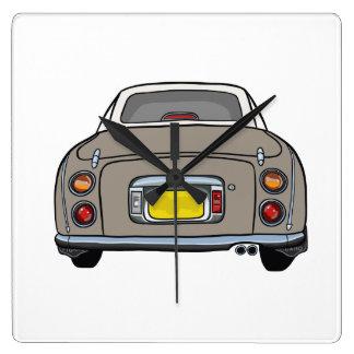 Nissan Figaro - Topaz Mist - Clock