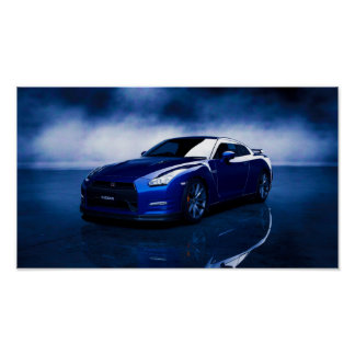 Nissan GT-R Quality Poster