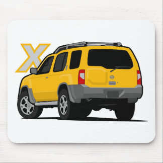 Nissan Xterra Yellow Mouse Pad