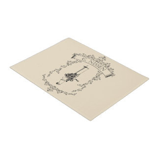 Nissen - Antique Circular Sockknittingmachine Doormat