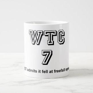 NIST admits WTC7 fell at freefall speed Giant Coffee Mug
