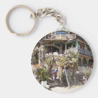 Nit Wit House Cambria, CA. Basic Round Button Keychain
