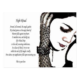 Nite Ritual Postcard