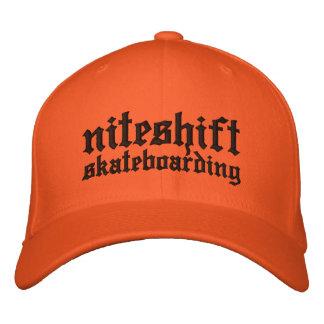 Niteshift Flexfit Cap Embroidered Baseball Caps