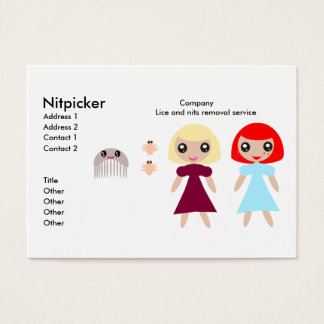 NitPicker Business Card