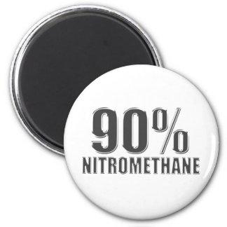 Nitromethane drag racing fuel magnet