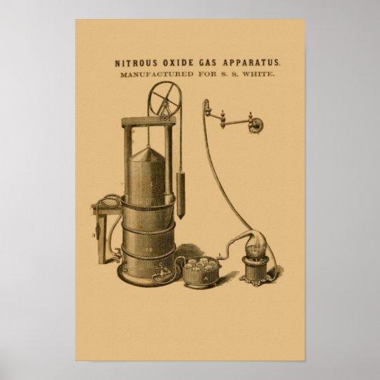 Nitros Oxide Gas Apparatus Print #3 Dental