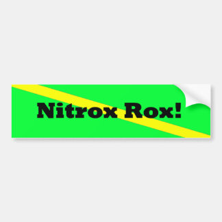 Nitrox Rocks! Bumper Sticker
