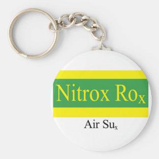Nitrox Rox Keychain