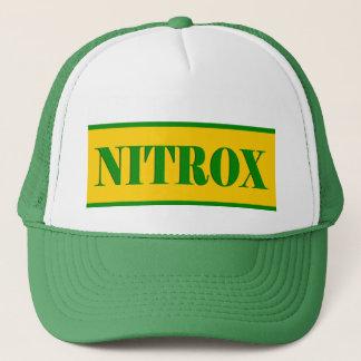 NITROX SYMBOL GREEN YELLOW SCUBA HAT