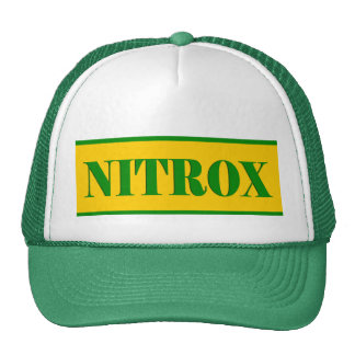 NITROX SYMBOL GREEN YELLOW SCUBA HAT
