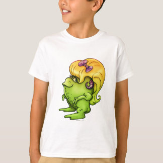 NITTA ALIEN CARTOON  HANES TAGLESS SHIRT KID