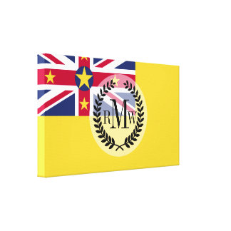 Niue Flag Canvas Print