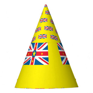 Niue Flag Party Hat