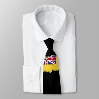 Niue Flag Tie