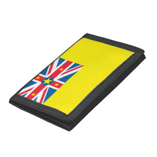 Niue Flag Trifold Wallet