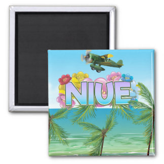 Niue South Pacific travel poster Magnet