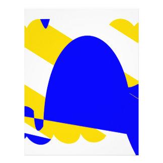nivernais-province-Flag Letterhead
