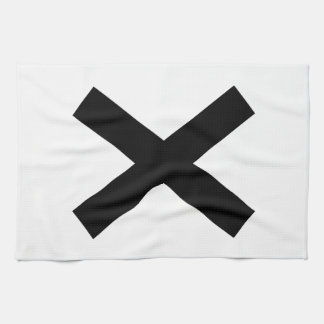Niwa muscle intersection kitchen towel