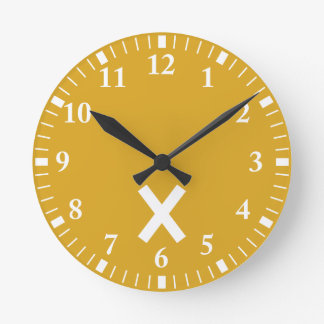 Niwa muscle intersection wall clocks