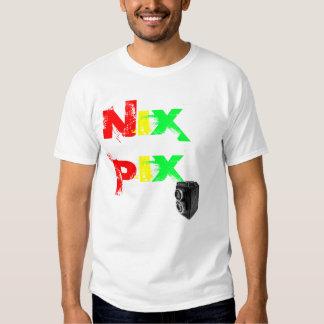 NIX PIX  with vintage camera Tees
