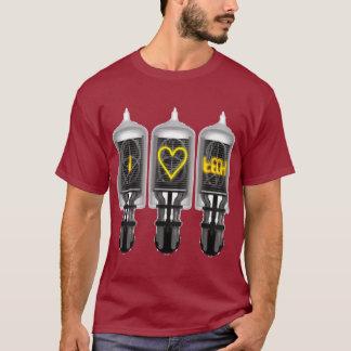 Nixie Tube Tech Love T-Shirt