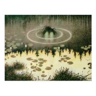 Nixie Water Spirit Postcard
