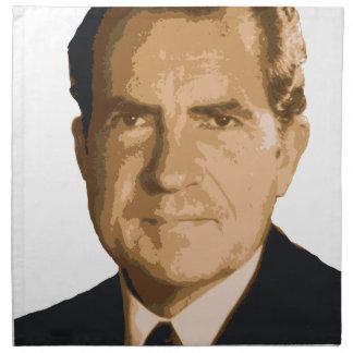 Nixon Head Napkin
