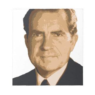 Nixon Head Notepad
