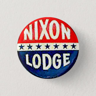 Nixon-Lodge 1 Inch Round Button