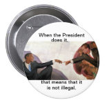 Nixon & Obama: Soul Mates Buttons