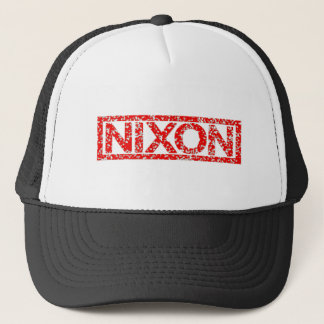 Nixon Stamp Trucker Hat