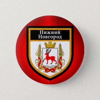 Nizhny Novgorod  Flag 2 Inch Round Button