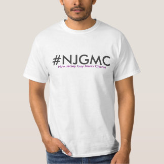 NJGMC Men's Classic White T-shirt