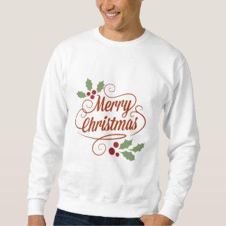 Njoku 'Merry Christmas' Sweatshirt. Pullover Sweatshirts