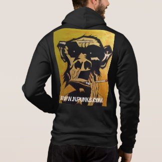 NJPunks Smoking Simian~ Hoodie