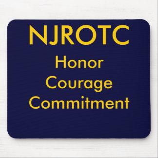 NJROTC, HonorCourageCommitment Mouse Pad