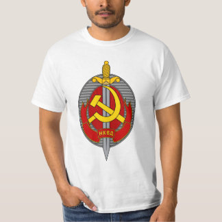 NKVD Emblem - Народный комиссариат внутренних дел T-Shirt