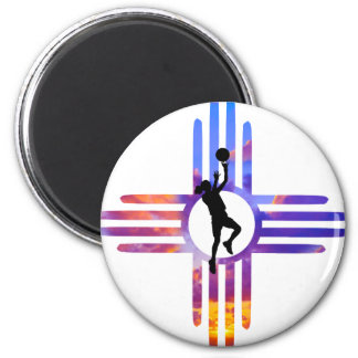 NM Basketball Magnet