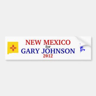 NM for Johnson 2012 sticker Bumper Sticker