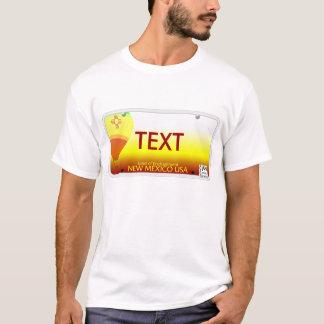 NM License Plate T-Shirt