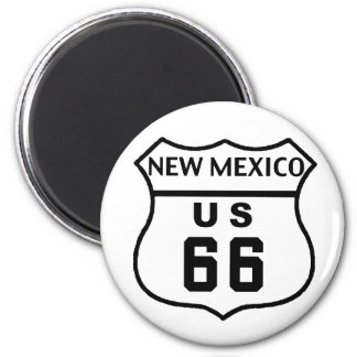NM Route 66 Magnet
