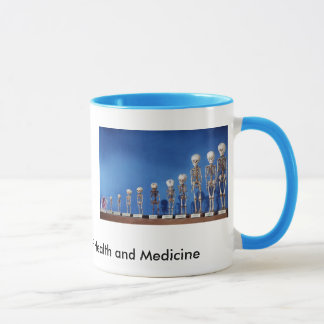 NMHM_Fetal.Skeletons, heart2, The National Muse... Mug
