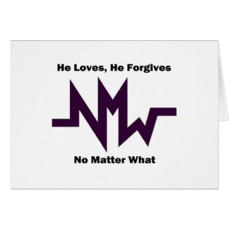 nmw he loves he forgives 1 card