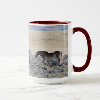 No # 18,DSC_0301, Wraparound Mug, Draft Horses MT Mug
