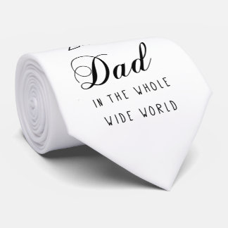 No.1 Dad - Father's Day Neck Tie