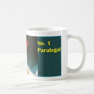 No. 1 Paralegal Number One Paralegal Mug